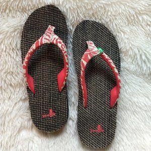 Sanuk Yoga Mat Women's Flip Flops